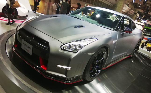 2015 Nissan GT-R-Nismo Live Photos