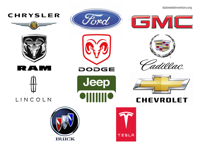 USA Car Brands, Companies and Manufacturers | Statewide Auto Sales