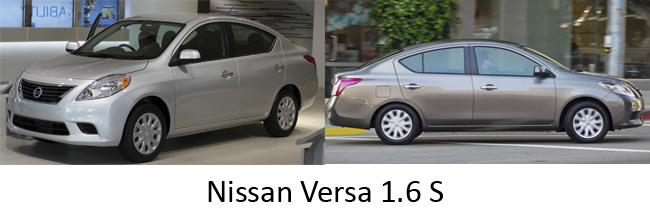 Nissan Versa 1 6 S