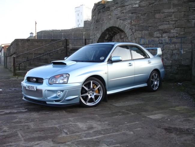 Subaru WR1