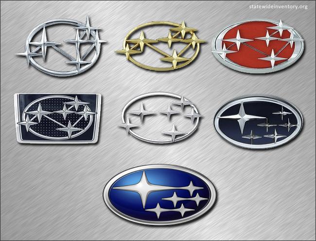 history Subaru logo